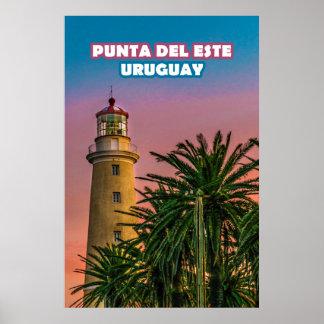 Punta del Este-Plakat-Druck Poster