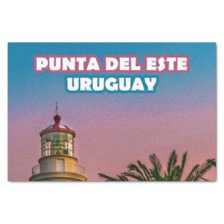 Punta del Este-Plakat-Druck Seidenpapier