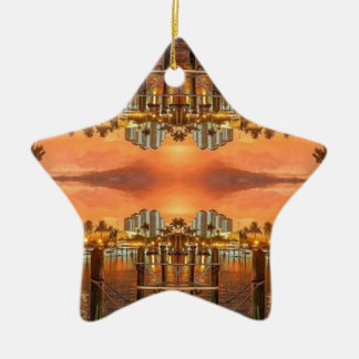 Punta Gorda Florida Keramik Ornament