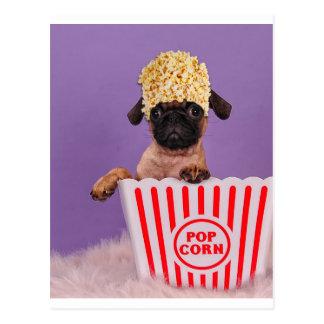 Pupcorn jedermann? postkarte