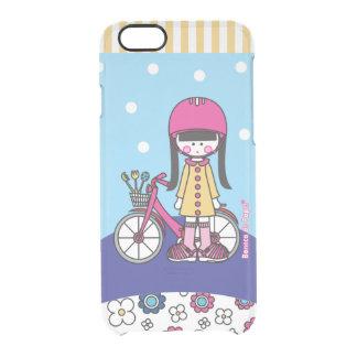 Puppe, s-Fahrrad-Kasten Durchsichtige iPhone 6/6S Hülle