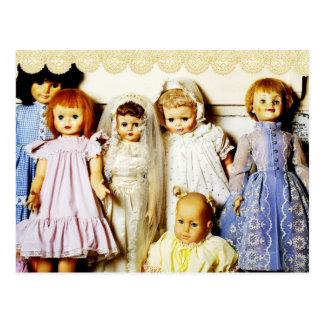 Puppen-Sammlung Postkarte