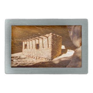 Puppenhaus Anasazi Ruine - Utah Rechteckige Gürtelschnalle