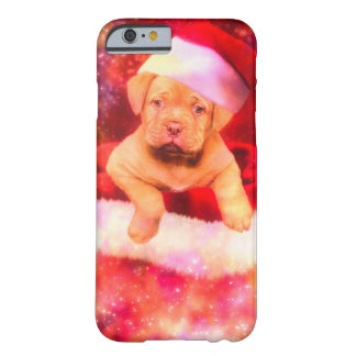 PUPPIE LABRADOR CHRISTMAS BARELY THERE iPhone 6 HÜLLE