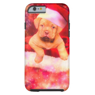 PUPPIE LABRADOR CHRISTMAS TOUGH iPhone 6 HÜLLE
