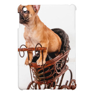 Puppy french bulldog in a pram iPad mini hülle