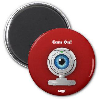 Puppyeye Webcam Runder Magnet 5,1 Cm