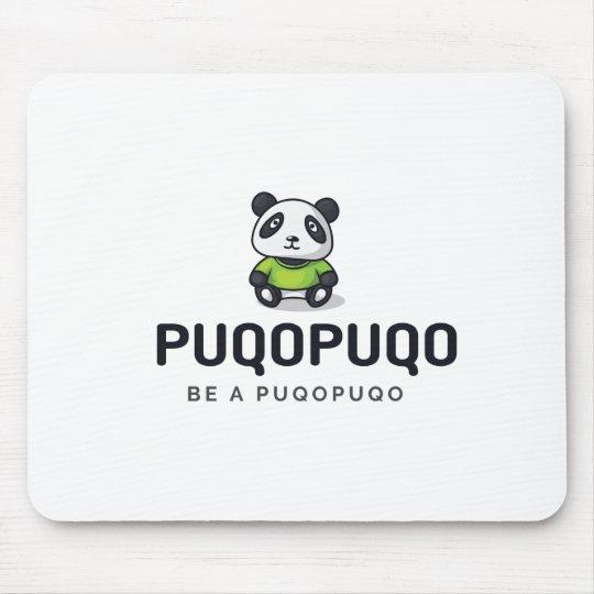Puqopuqo Mousepad - Der Panda regiert das Büro!