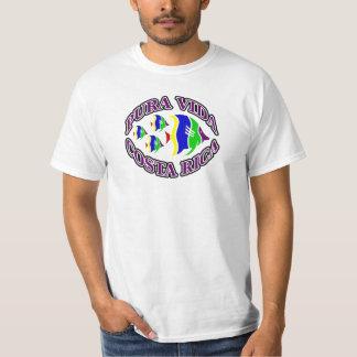 Pura Vida Costa Rica Fische T-Shirt