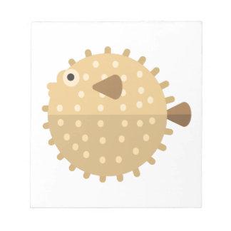 Purcupine Fisch-Primitiv-Art Notizblock