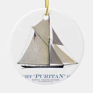Puritaner 1885 keramik ornament