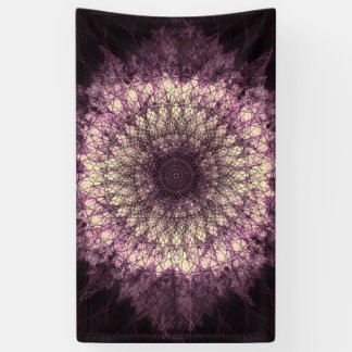 Purple Mandala Banner