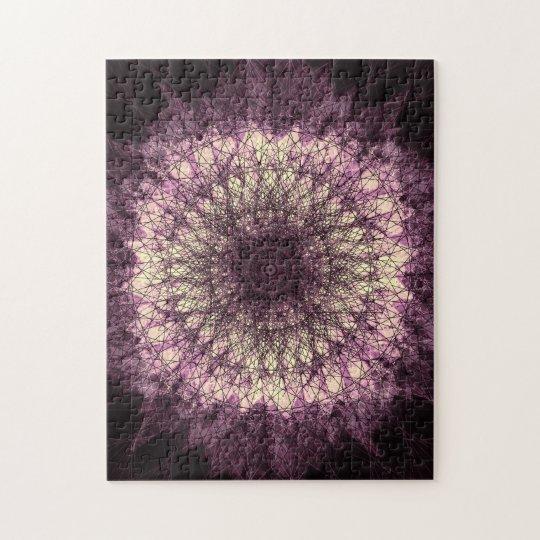 Purple Mandala Puzzle