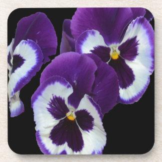 Purple_Pansy_Posy, _ Untersetzer