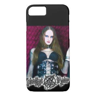 PurpleBlaZe Amethyst Wynter Metalllogo iPhone 8/7 Hülle