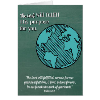 Purpose religiösen Abschluss Karte-D Lords Karte