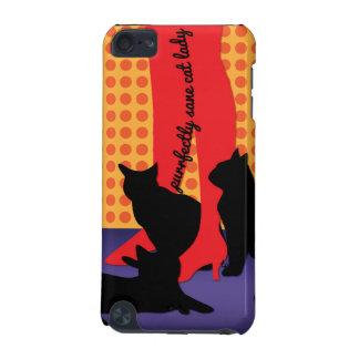 Purrfectly gesunde Katzen-Dame iPod Touch 5G Hülle