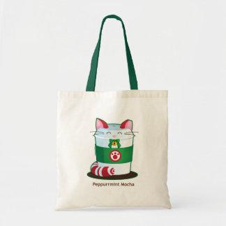 Purrista Pawfee - niedliche Feiertags-Kaffee-Katze Tragetasche