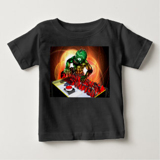 Push the Button Baby T-shirt