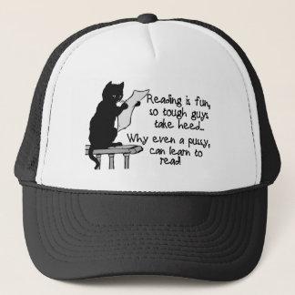 Pussy kann lesen truckerkappe