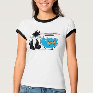 Pussyfoot-mürrische Miezekatze T-Shirt