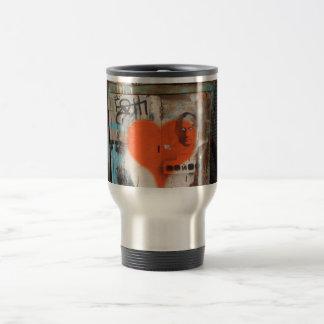 Putin-Herz-Kaffee-Reise-Tasse Reisebecher