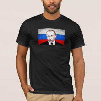 Putin mit Flagge T-Shirt