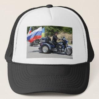 Putin reitet ein Trike! Truckerkappe