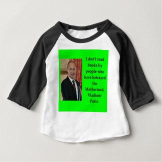 Putin-Zitat Baby T-shirt