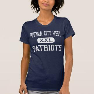 Putnam Stadt-West- Patrioten - hohes - Oklahoma T-Shirt