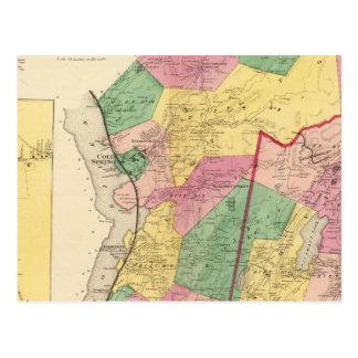 Putnam Tal, Philipstown, Städte Postkarte
