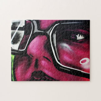 Puzzle der Graffiti-5