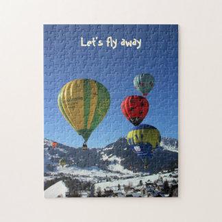 hot air balloon show jigsaw puzzle