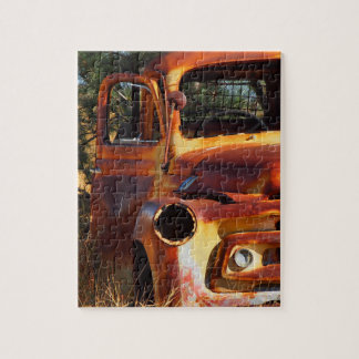 Puzzle des Vintagen Autos