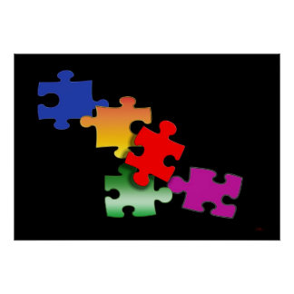 Puzzle Posterdruck