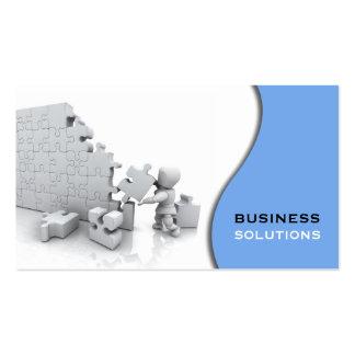 Puzzle-Visitenkarte Visitenkarten