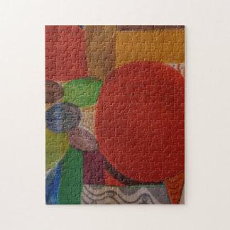 Puzzlespiel 11x14 mit abstraktem Entwurf Puzzle