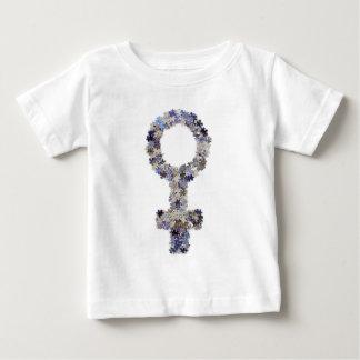 Puzzlespiel bessert feministisches Symbol aus Baby T-shirt