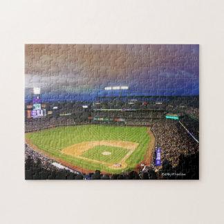 Puzzlespiel des Baseball-Stadions--11x14 mit Puzzle