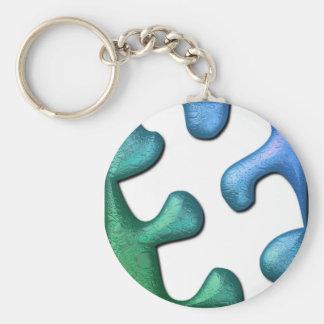 Puzzlespiel-Entwurf Keychain Schlüsselanhänger