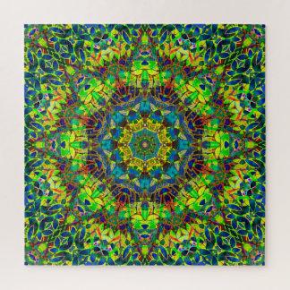Puzzlespiel-Fraktal abstraktes Mit Blumeng89 Puzzle
