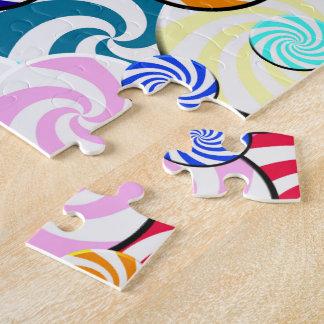 Puzzlespiel - Süßigkeits-Collage Puzzle