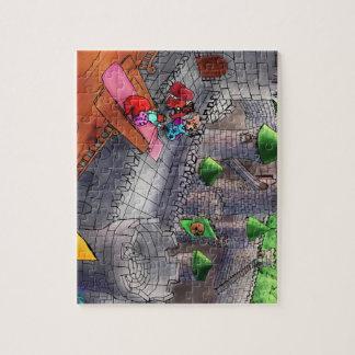 Puzzlespiel TGAOAC Illustrations-3 Puzzle