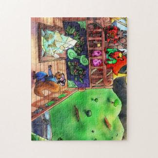 Puzzlespiel TGAOAC Illustrations-6 Puzzle