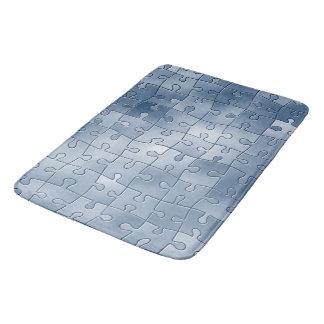 Puzzlespielfliesen Badematte