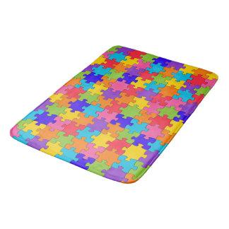 Puzzlespielfliesen Badematten