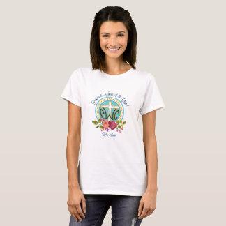 PWOC Blumenlogo-T - Shirt