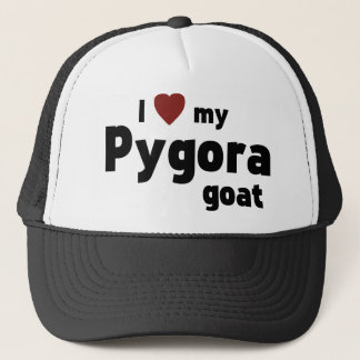 Pygora Ziege Truckerkappe