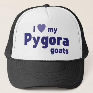 Pygora Ziegen Truckerkappe