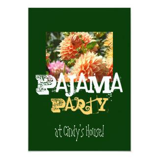Pyjama-Party an Ihrem Namenshaus! Einladungen